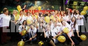 В Самаре для будущих волонтеров провели настоящую футбольную разминку