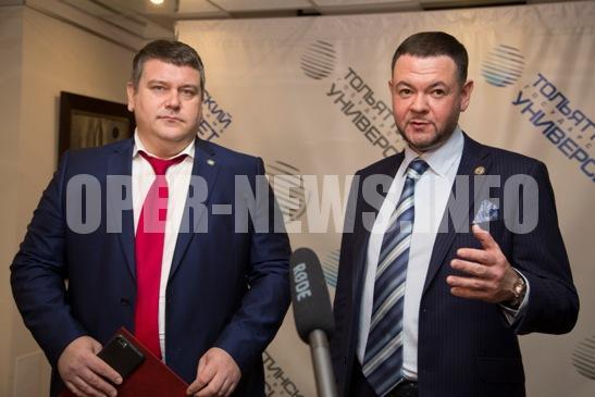 Торжественный прием ректора ТГУ