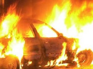 поджог автомобиля